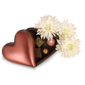 chocolate heart love